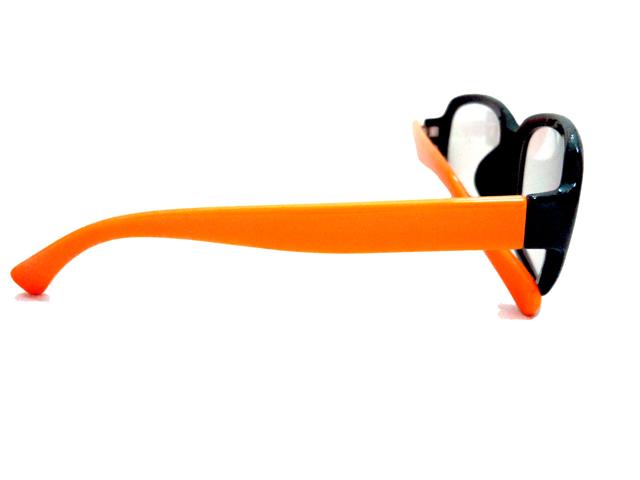 オレンジ×ブラック スクエア2