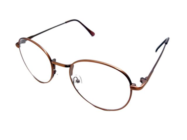 丸メガネ�型 ブロンズ2