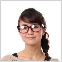 眼鏡レンズ反射画像