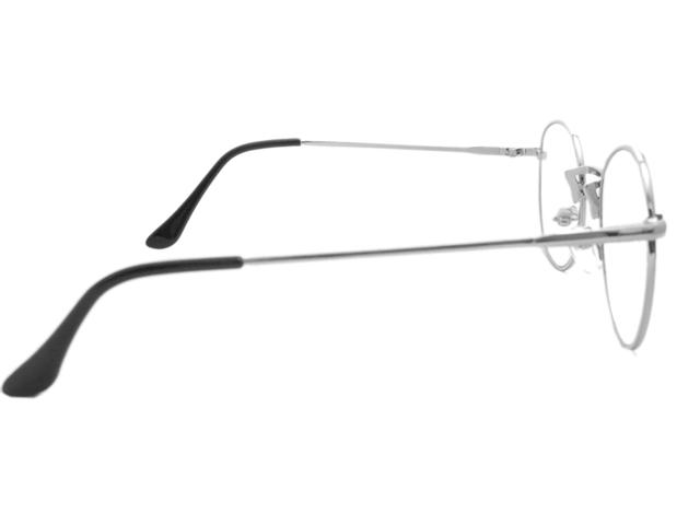 丸メガネ�型 シルバー3