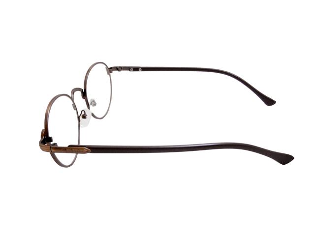 丸メガネ�型 ブロンズ3